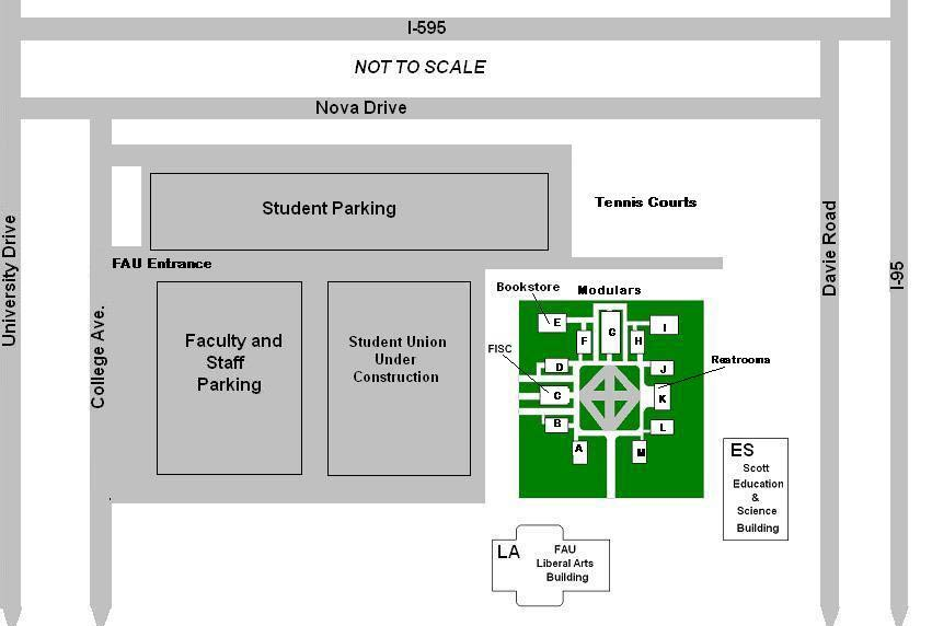 FAU Institute for Design and Construction Maps and Directions
